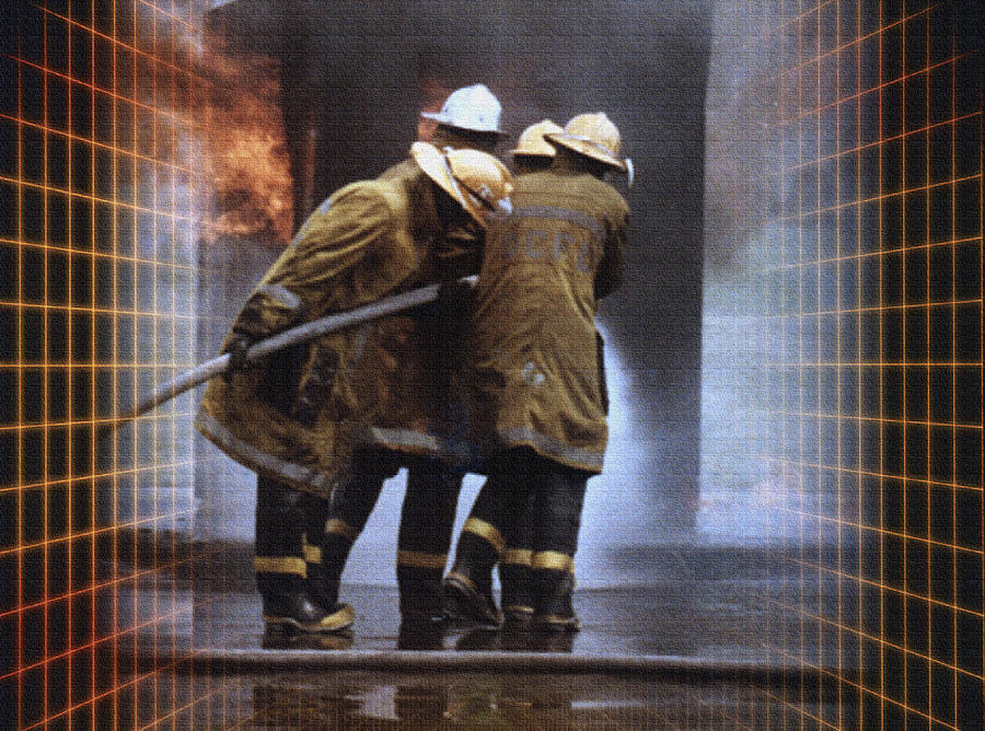 Firefighters Photograph - All In A Days Work by Donna Proctor