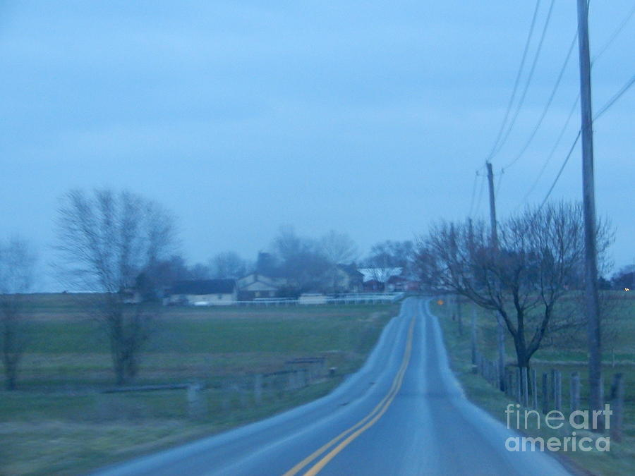 Amish Photograph - All Is Calm And Peaceful by Christine Clark