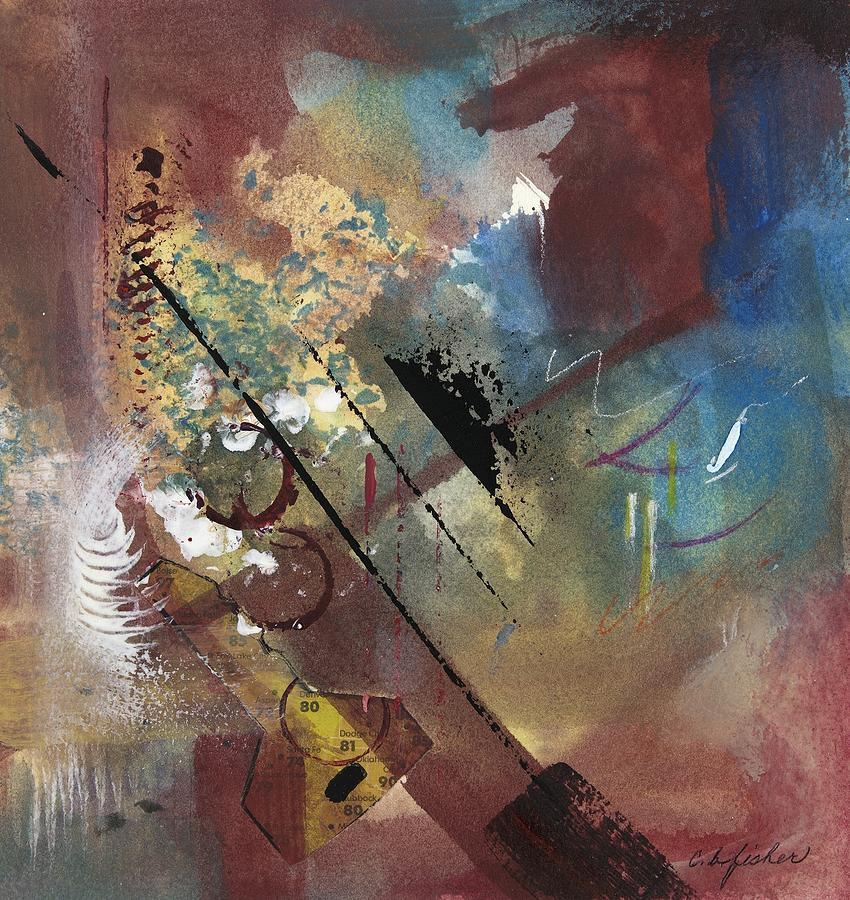 Abstract Painting - All Keyed Up by Constance Fisher