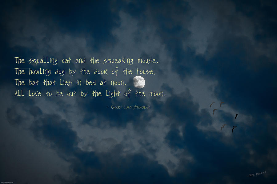 the moon by robert louis stevenson