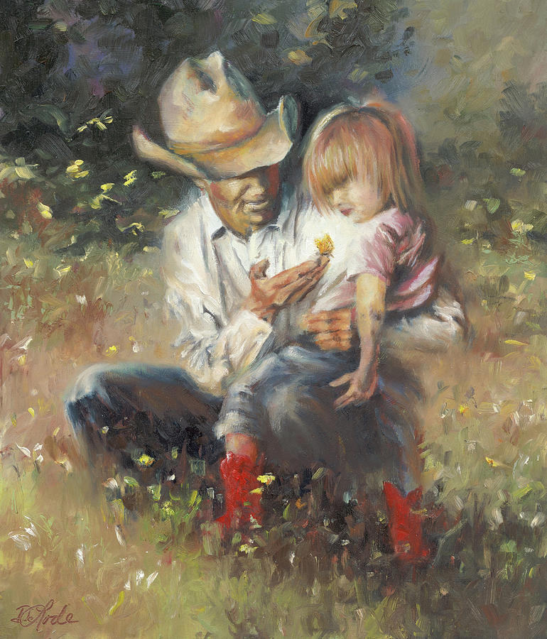 Children Painting - All of Lifes Little Wonders by Mia DeLode
