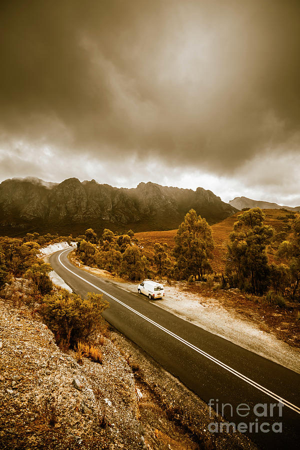 Australia Photograph - All Roads Lead To Adventure by Jorgo Photography - Wall Art Gallery
