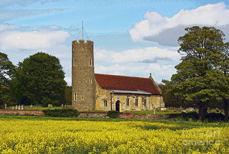 All Saints Frostenden. Photograph by Stan Pritchard
