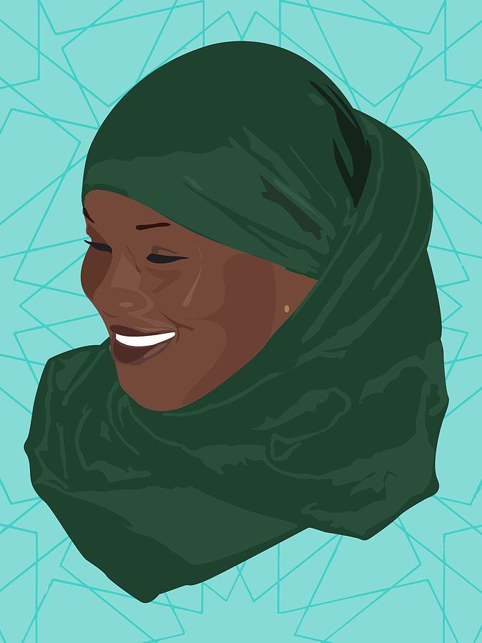 Muslim Digital Art - All Smiles by Scheme Of Things