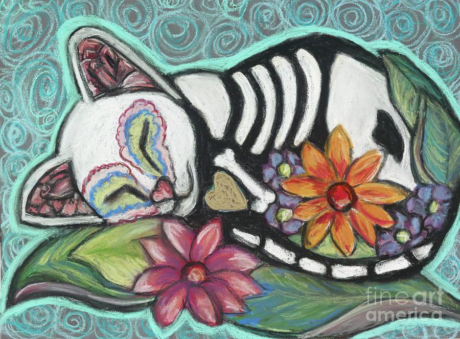 Cat Pastel - All Souls Day Buffy II by Ann Hoff