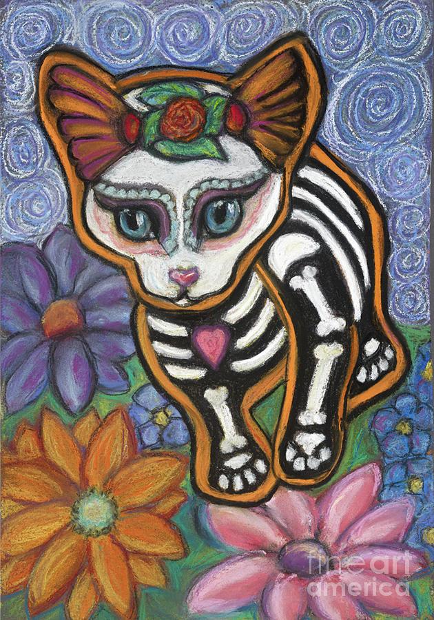 Cats Pastel - All Souls Day Elsa by Ann Hoff