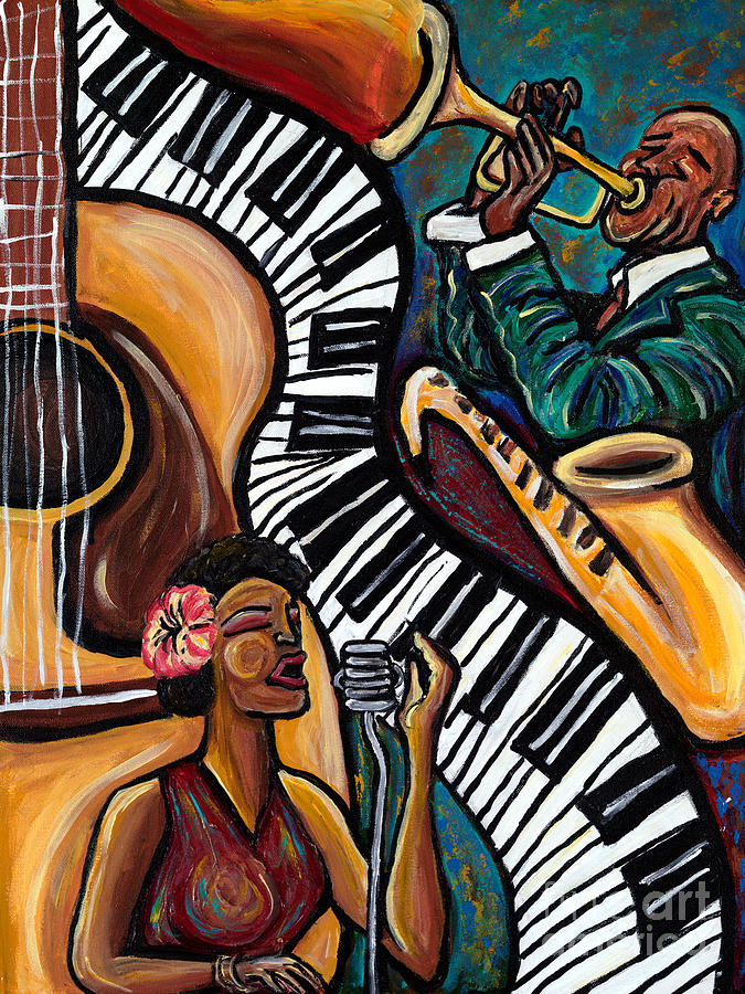 All That Jazz Painting By Tiffany Yancey