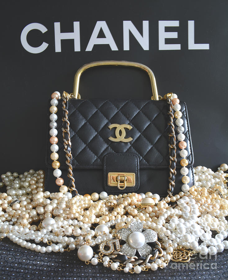 Chanel Photograph - Timeless Beautiful Accessories  by To-Tam Gerwe