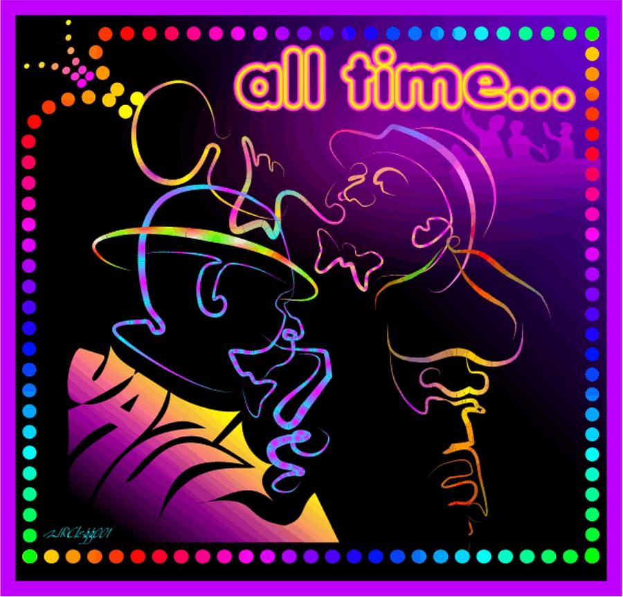 All Time Jazz Digital Art by William R Clegg