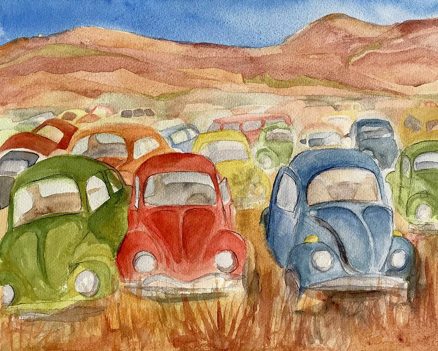 Vws Resting Painting by Lynne Bolwell