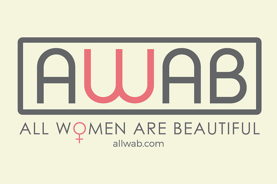 Women's Colleges Painting - All Women Are Beautiful by David Wadley and LogoWorks