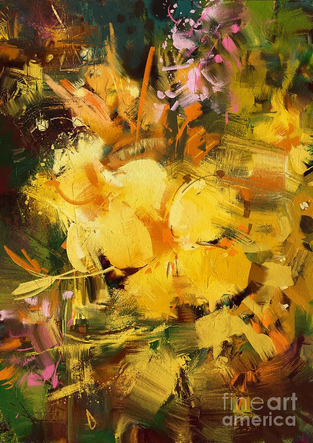 Allamanda Painting