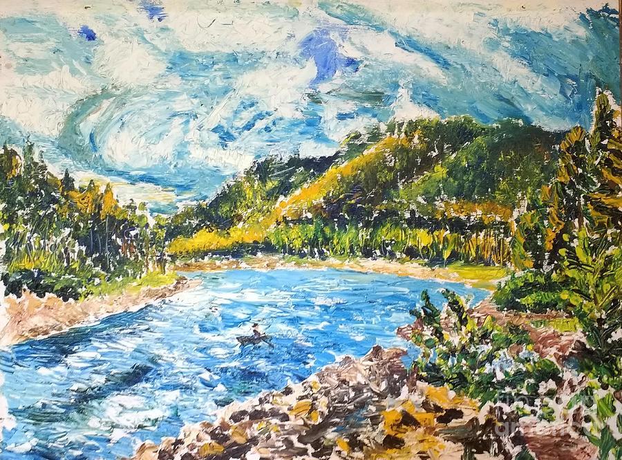 Allegheny Reservoir by Walt Brodis
