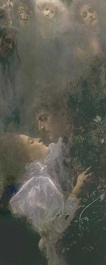 Allegory Of Love Painting By Gustav Klimt