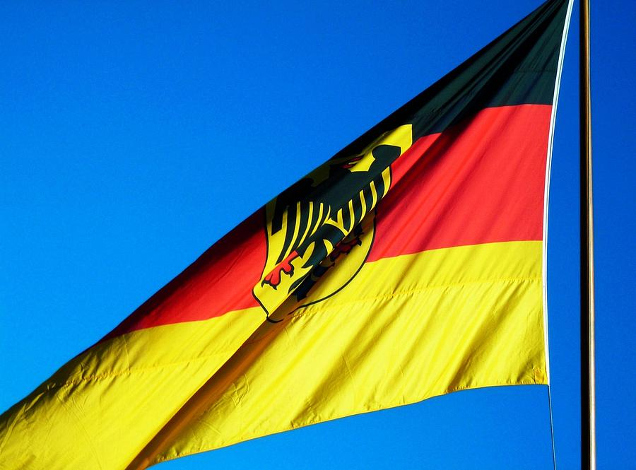 Drapeau Photograph - Allemagne ... by Juergen Weiss