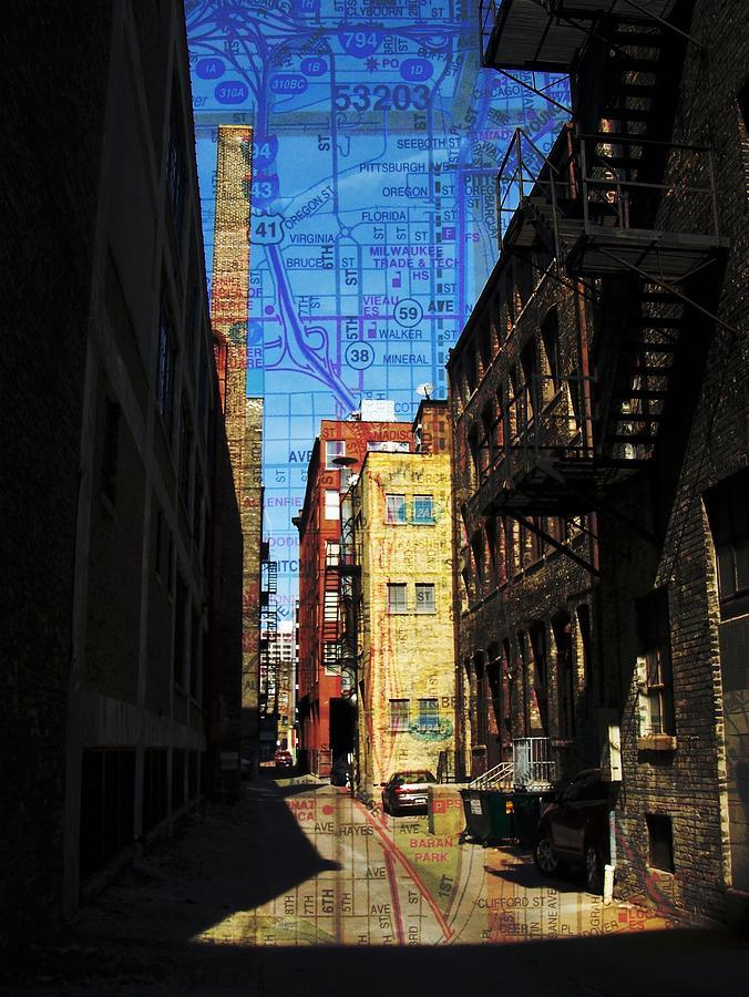 Alley 3rd Ward w Map by Anita Burgermeister