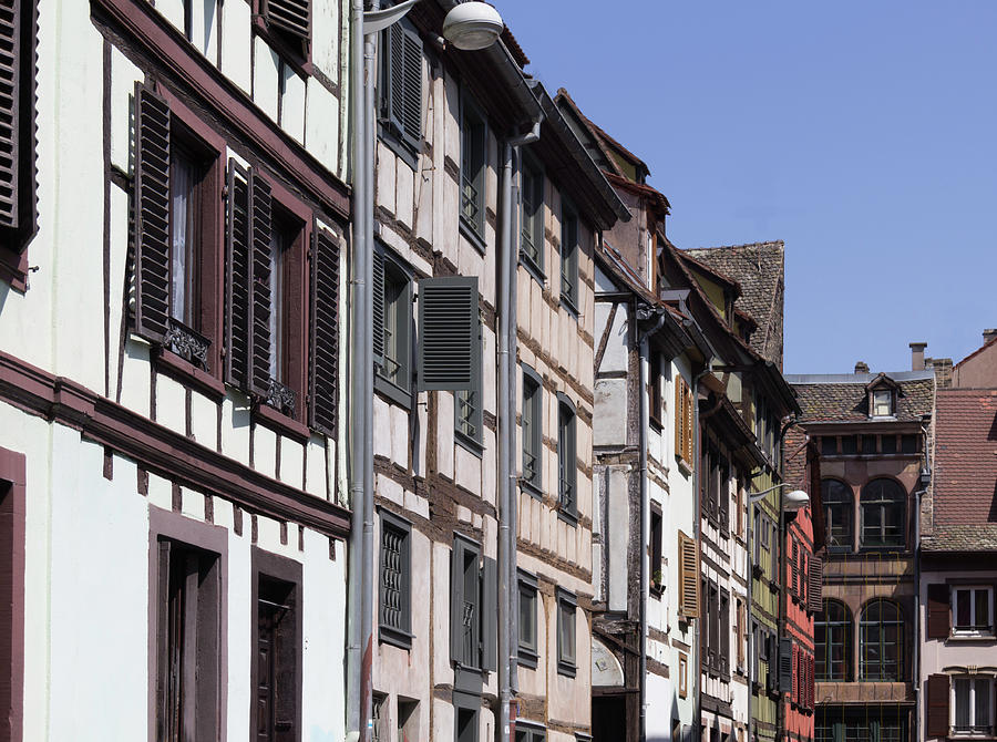 Alsace Photograph - Alley In La Petite France by Teresa Mucha