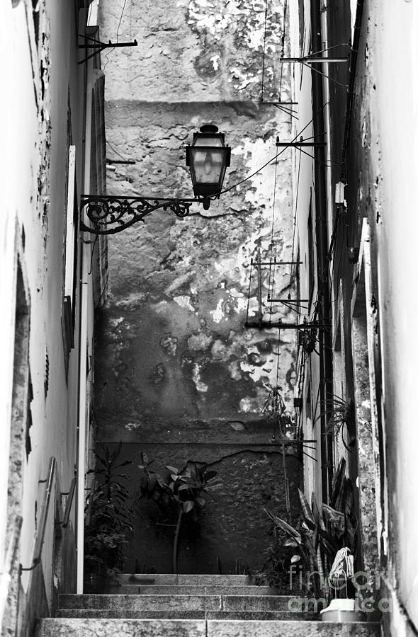 Alley Light Photograph - Alley Light by John Rizzuto