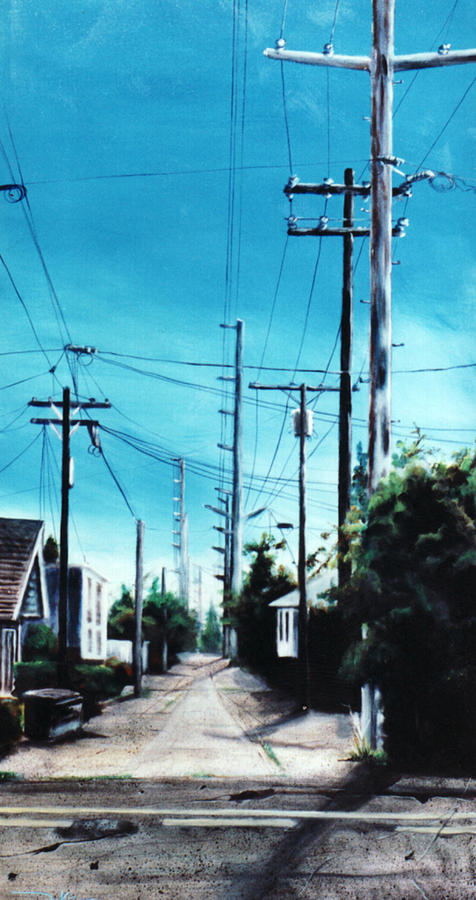 Cityscapes Painting - Alley No. 1 by Duke  Windsor