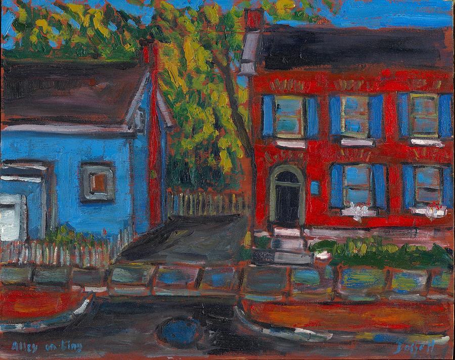 Alley on King by David Dossett