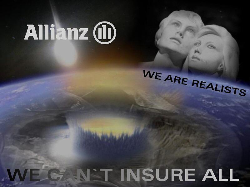 Advertising Digital Art - Allianz by Maria Datzreiter