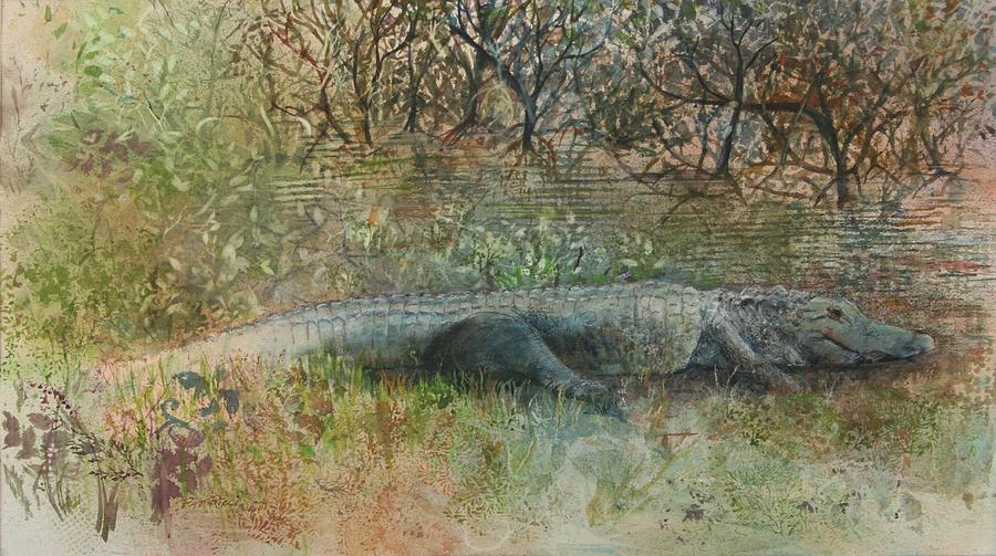 Alligator by Patricia Ricci