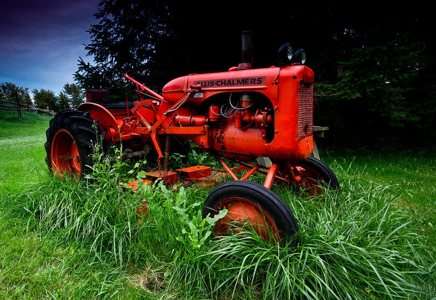 Allis Chalmers Tractor Photograph