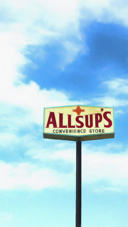 New Mexico Photograph - Allsups by Stephen Stookey