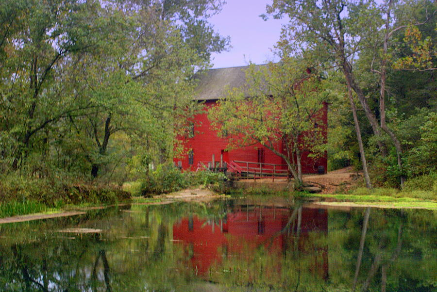 Spring Photograph - Allsy Sprng Mill 2 by Marty Koch