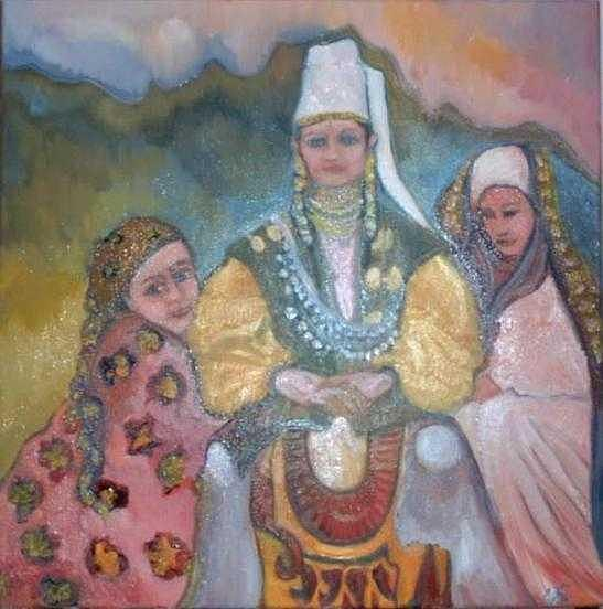 Dancing Painting - Alma La Reine Des Danseuses by Norah Joy Clydesdale