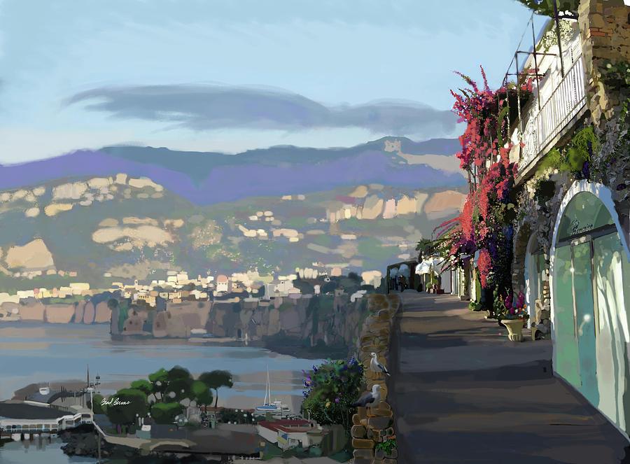 Almalfi Coast Painting