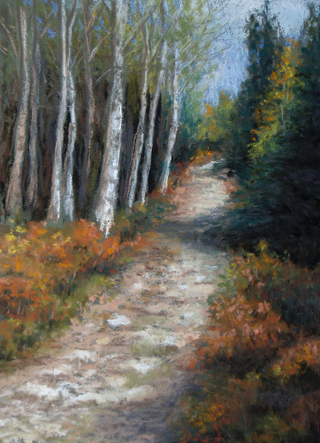 Landscape Painting - Almost Autumn by Susan Jenkins