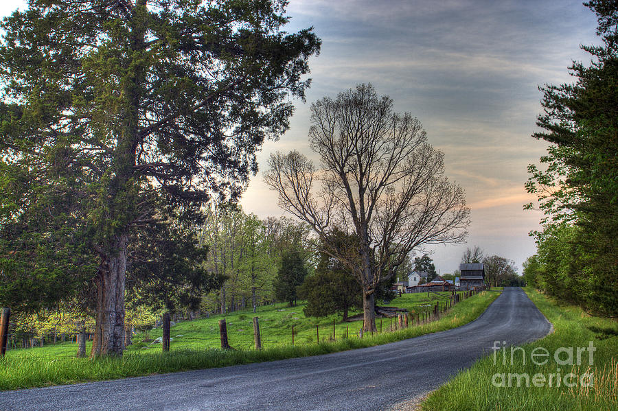 Virginia Photograph - Almost Home by Pete Hellmann