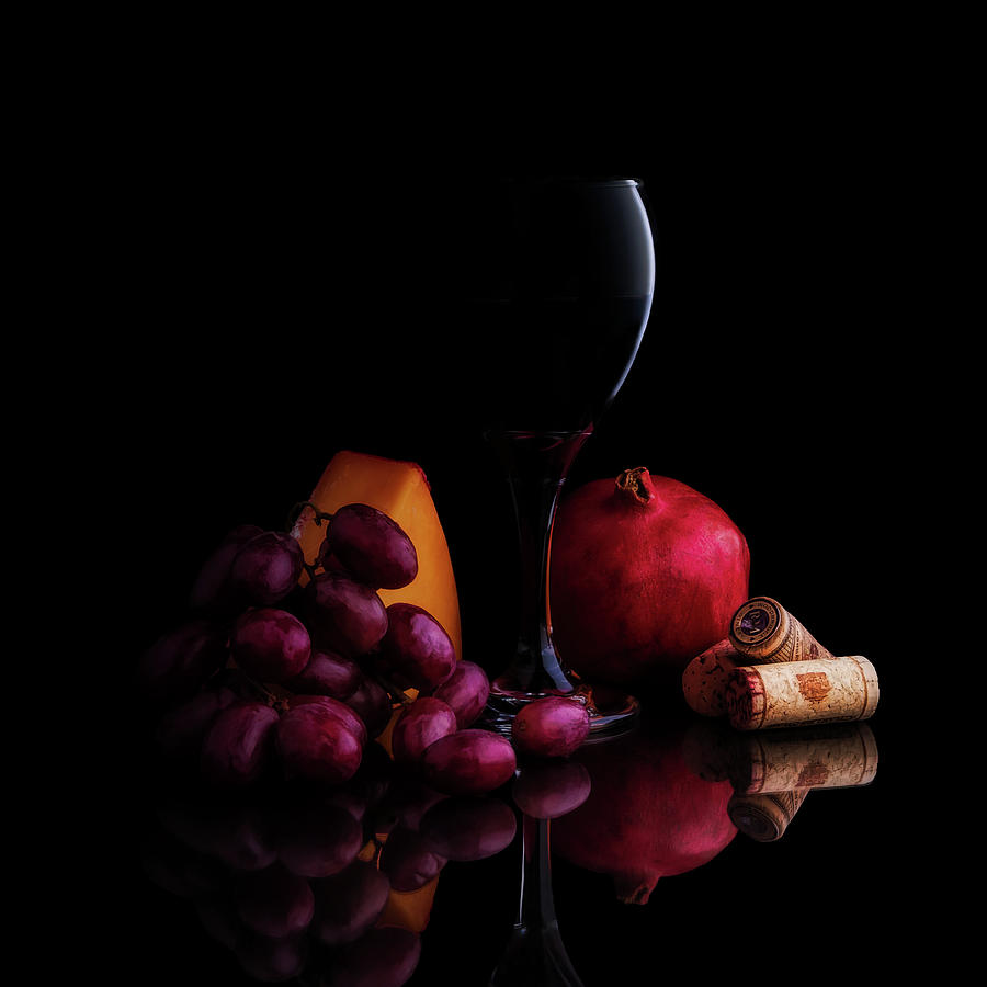 Wine Photograph - Almost Wine by Tom Mc Nemar