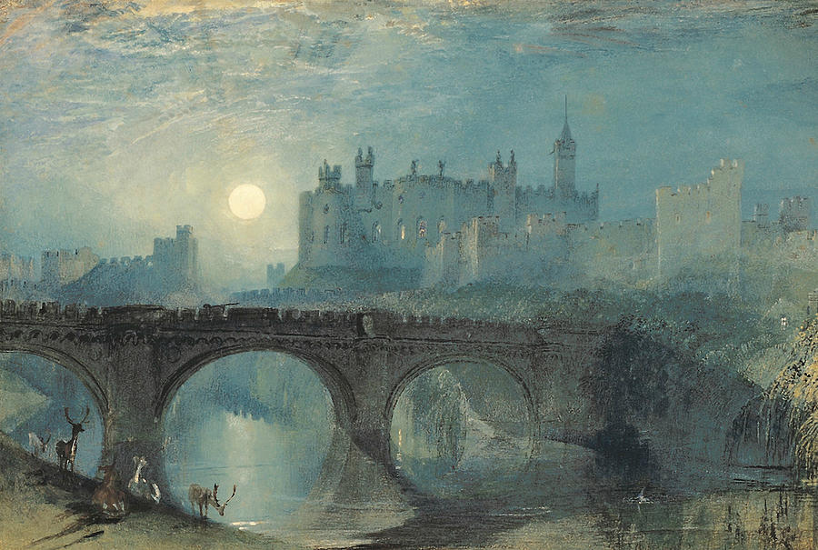 Titulo para el Beta Alnwick-castle-joseph-mallord-william-turner