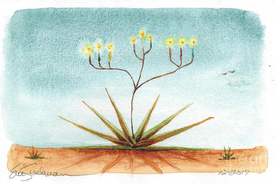 Aloe Menorah by Eric Suchman