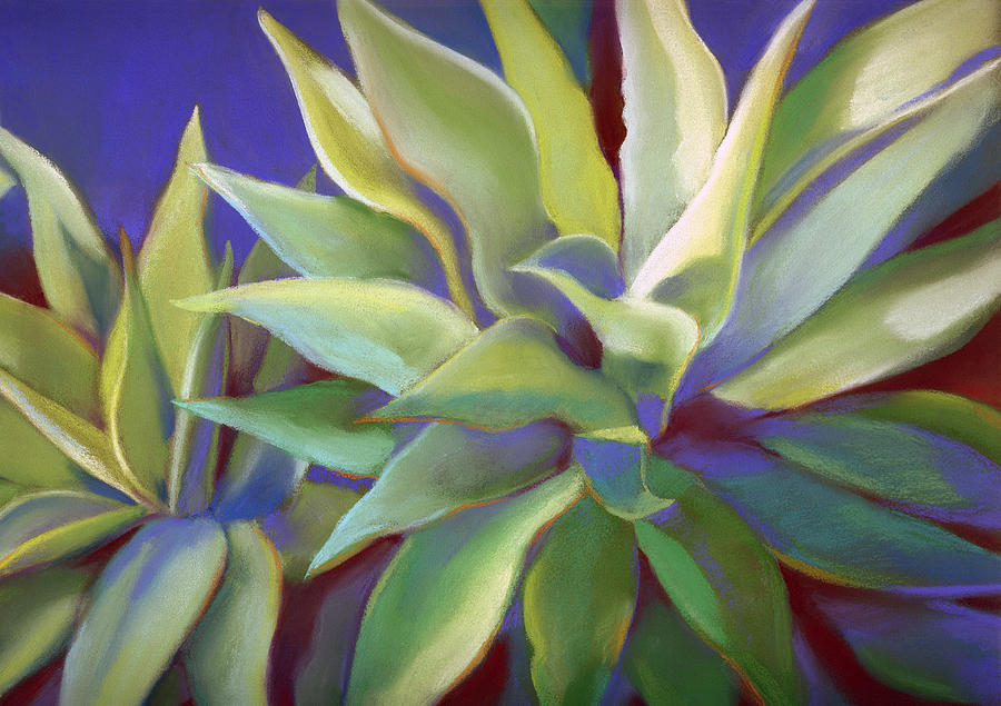 Aloe Plants in Big Sur by Linda Ruiz-Lozito