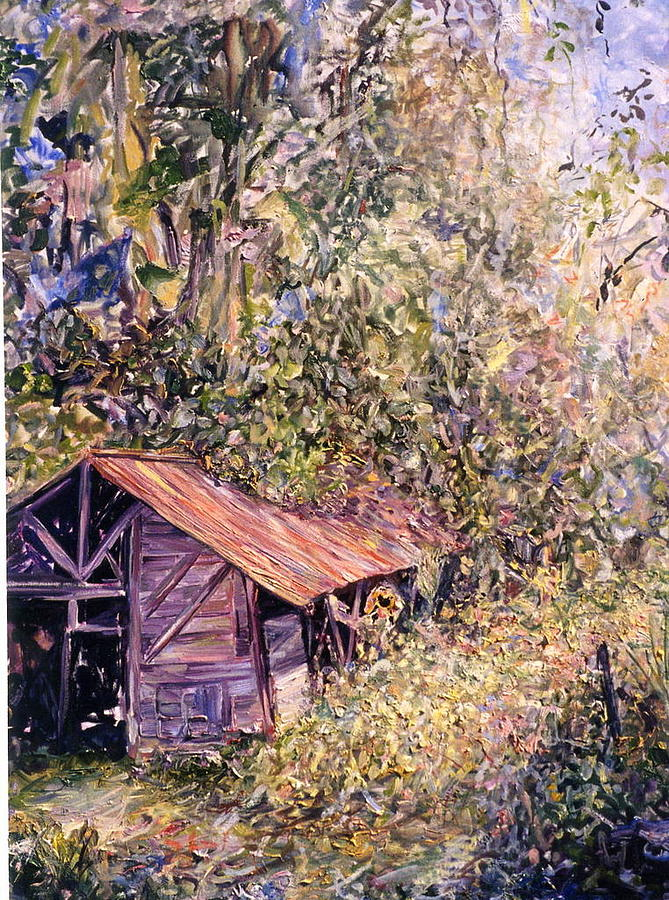 Landscape Painting - Aloft by Caroline Comings