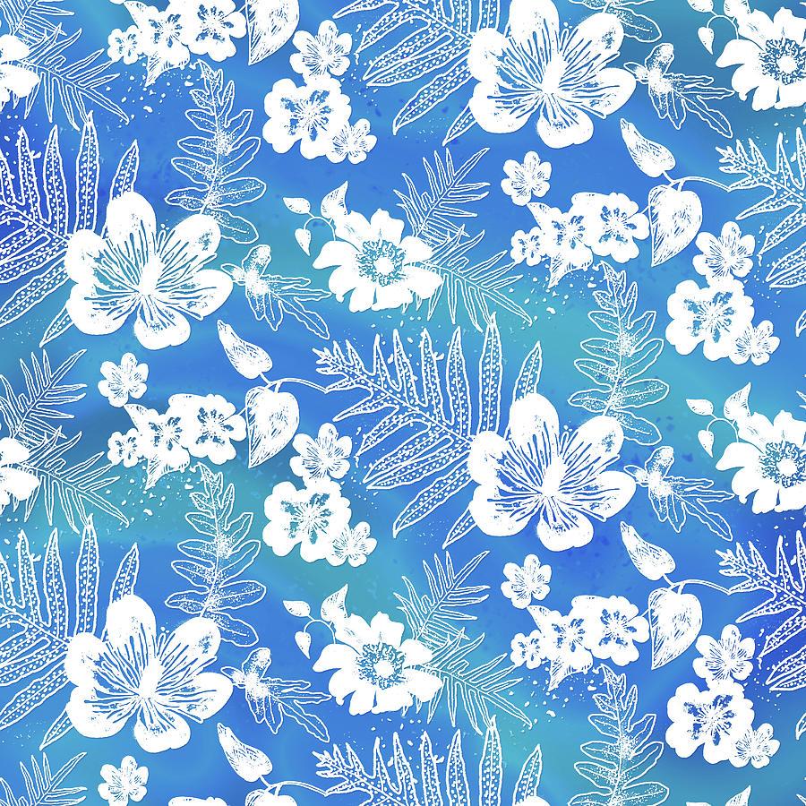 Aloha Lace Kaua'i Blue by Karen Dyson
