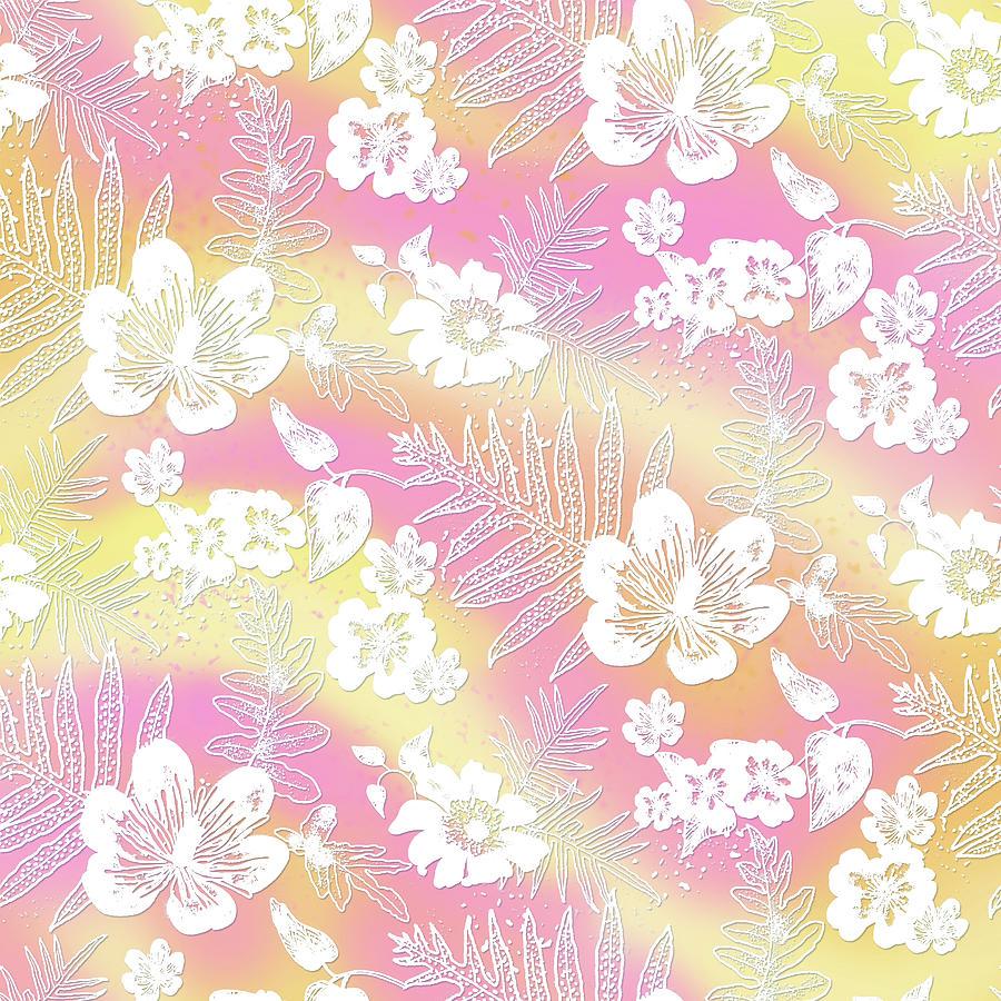 Aloha Lace Passion Guava Sorbet by Karen Dyson