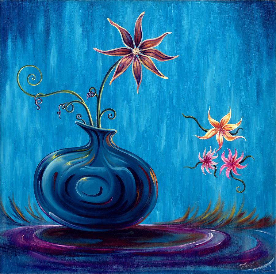 Rain Painting - Aloha Rain by Jennifer McDuffie