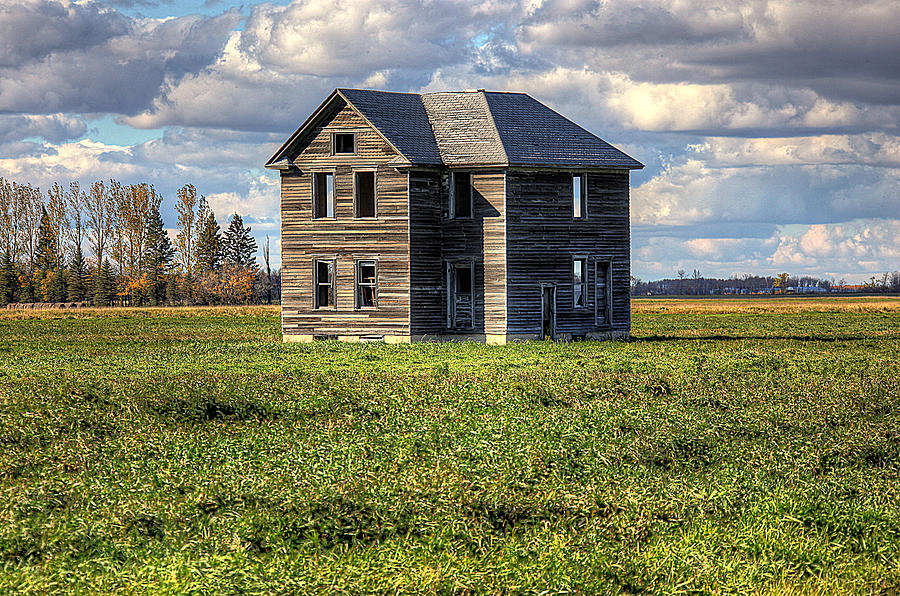 Abandoned Building Photograph - Alone At Last by Dan Nelson