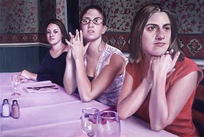 Alone Painting by Brooke Walker-Knoblich