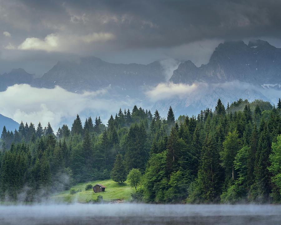 Alone in German Alps by Dalibor Hanzal