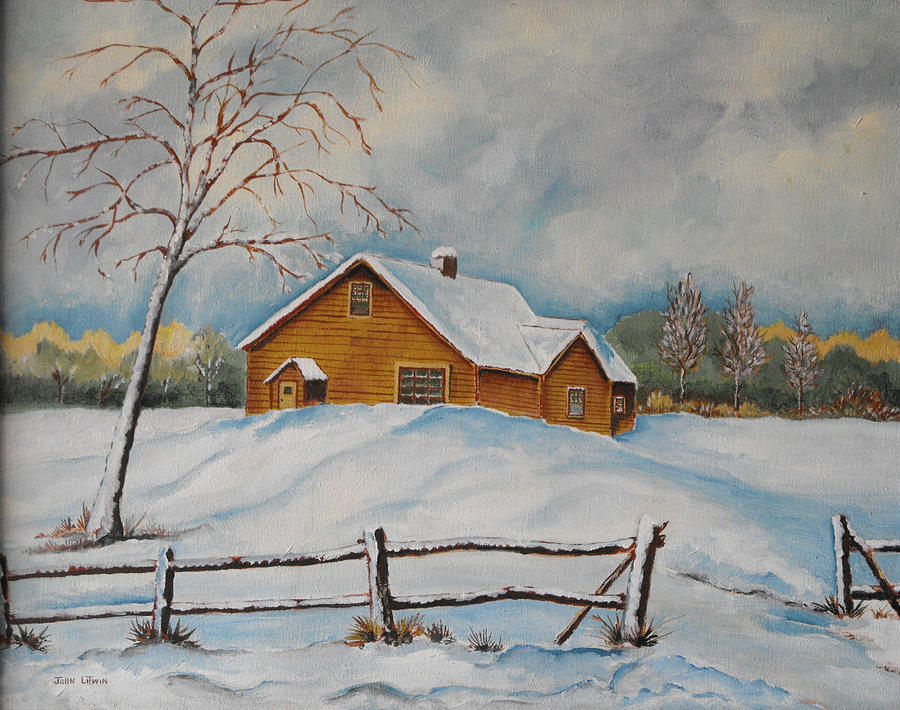 Alone Painting by John Litwin