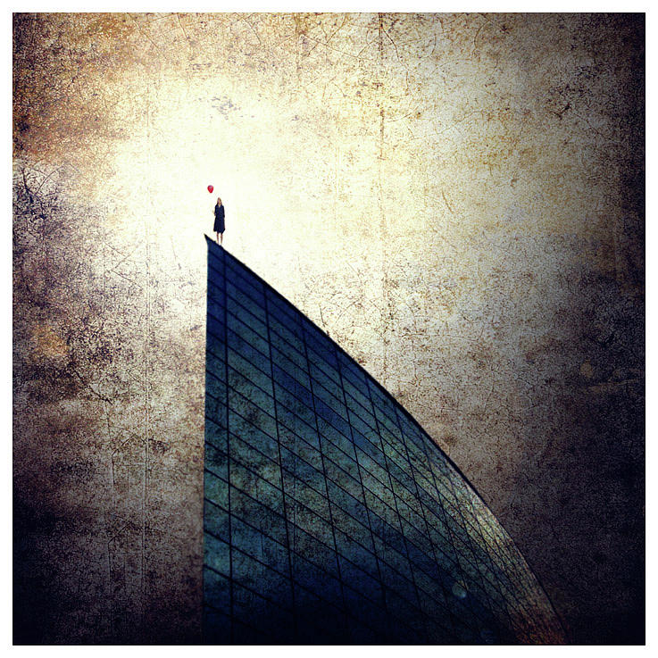 Limited Photograph - Alone by Luis  Beltran
