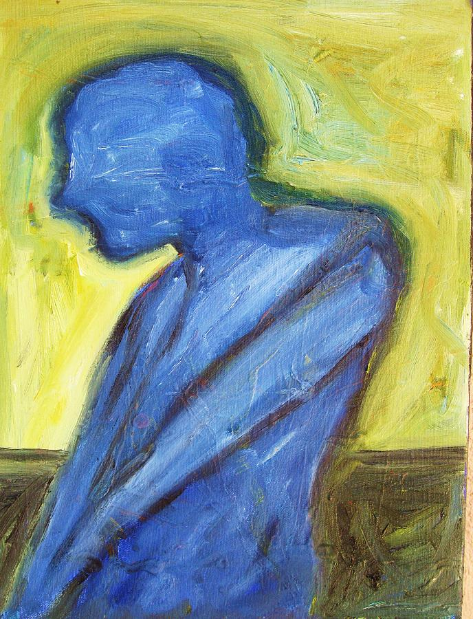 Alone Painting by Ron Klotchman