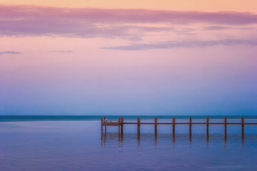 Atlantic Photograph - Alone With My Thoughts by Ronn Orenstein