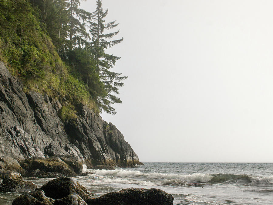 Water Photograph - Along the Coast by Trance Blackman