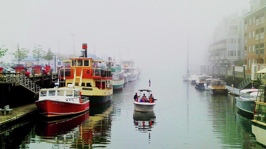 Along The Docks Of The Atlantic Photograph
